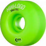 Mini Logo Skateboard Wheels C-cut 53mm 101A Green 4pk