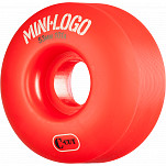 Mini Logo Skateboard Wheels C-cut 53mm 101A Red 4pk