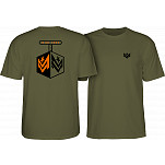 Mini Logo Chevron Detonator T-shirt Army Green