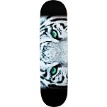 Mini Logo Chevron Tiger Eyes Skateboard Deck - 8.25 x 32.5