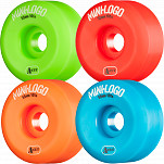 Mini Logo Skateboard Wheels A-cut 55mm 101A Assorted 4pk