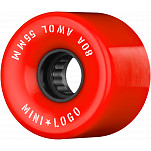 Mini Logo AWOL Skateboard Wheels 55mm 80A Red 4pk