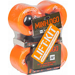 Mini Logo A.W.O.L. Lift Kit 66mm Orange Wheel