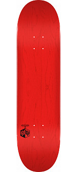 "MINI LOGO DETONATOR ""15"" SKATEBOARD DECK 255 K20 RED - 7.5 X 30.70"