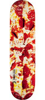 Mini Logo Small Bomb Skateboard Deck 112 Pizza - 7.75 x 31.75