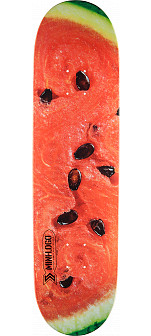 Mini Logo Small Bomb Skateboard Deck 170 Watermelon- 8.25 x 32.5