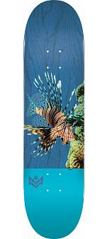 "MINI LOGO POISON ""16"" SKATEBOARD DECK 255 K20 LION FISH - 7.5 X 30.70"