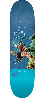 "MINI LOGO POISON ""16"" SKATEBOARD DECK 191 K16 LION FISH - 7.5 X 28.65 - MINI"