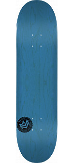"MINI LOGO CHEVRON STAMP ""12"" SKATEBOARD DECK 249 BLUE - 8.5 X 32"