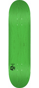 "MINI LOGO DETONATOR ""15"" SKATEBOARD DECK 242 K20 GREEN - 8 x 31.45"