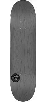 "MINI LOGO CHEVRON STAMP 2 ""13"" SKATEBOARD DECK 244 GRAY - 8.5 x 32.08"