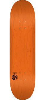 "MINI LOGO DETONATOR ""15"" SKATEBOARD DECK 291 K20 ORANGE - 7.75 X 31.08"