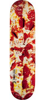 Mini Logo Small Bomb Skateboard Deck 126 Pizza - 7.625 x 31.625