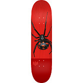 "MINI LOGO POISON ""16"" SKATEBOARD DECK 291 K20 BLACK WIDOW - 7.75 X 31.08"