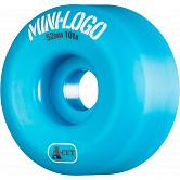 Mini Logo Skateboard Wheels A-cut 52mm 101A Blue 4pk