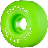 "Mini Logo Skateboard Wheels C-cut ""2"" 52mm 101A Green 4pk"
