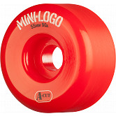 Mini Logo Skateboard Wheel A-cut 55mm 90A Red 4pk