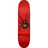 "MINI LOGO POISON ""16"" SKATEBOARD DECK 244 K20 BLACK WIDOW - 8.5 x 32.08"
