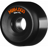 Mini Logo Skateboard Wheels 58mm 101a 4pk Black