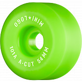 "Mini Logo Skateboard Wheels A-cut ""2"" 54mm 101A Green 4pk"