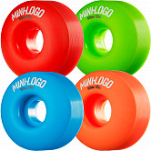 Mini Logo Wheel C-cut 53mm 101A Assorted 4pk