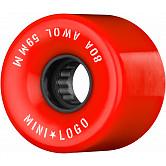 Mini Logo AWOL Skateboard Wheels 59mm 80A Red 4pk