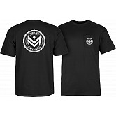 Mini Logo Chevron Circle T-shirt Black
