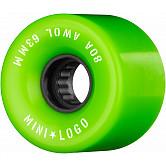 Mini Logo AWOL Skateboard Wheels 63mm 80A Green 4pk