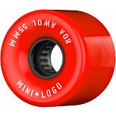 Mini Logo AWOL Skateboard Wheels 55mm 80A Red 4pk