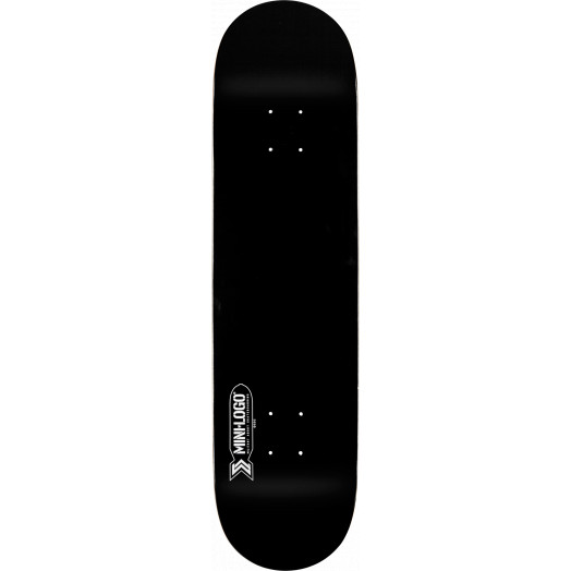Mini Logo Small Bomb Skateboard Deck 112 Black - 7.75 x 31.75