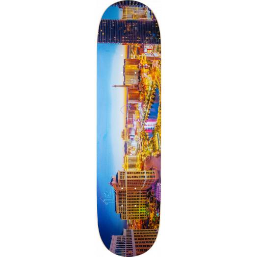 """Mini Logo Chevron """"11"""" Skateboard Deck 242 City Las Vegas - 8 x 31.45"""