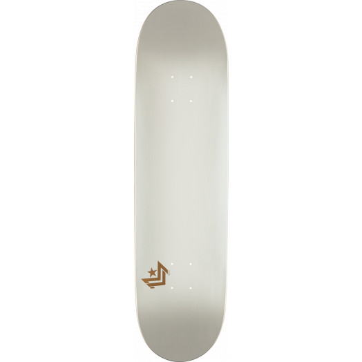 Mini Logo Chevron Skateboard Deck 112 Pearl White - 7.75 x 31.75
