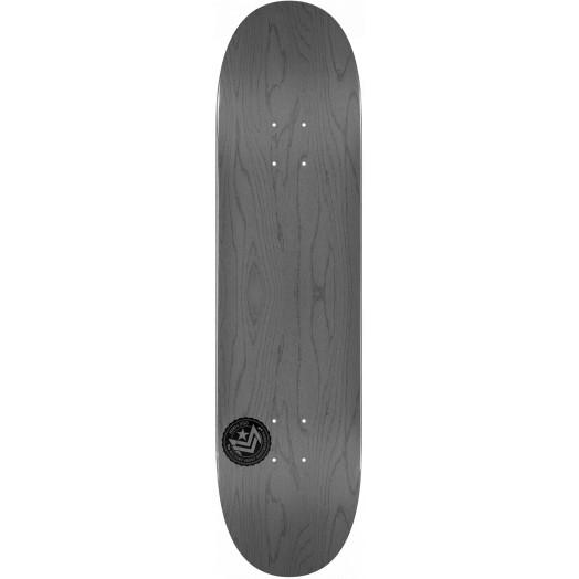 "Mini Logo ""12"" Chevron Skateboard Deck 242 K20 Gray - 8 x 31.45"