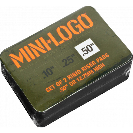 "Mini Logo .50"" Rigid Riser (2 pack)"
