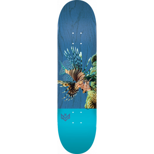 "MINI LOGO POISON ""16"" SKATEBOARD DECK 191 K16 LION FISH - 7.5 X 28.65 - MINI"