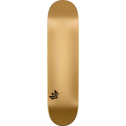 Mini Logo Chevron Skateboard Deck 249 Gold - 8.5 x 32