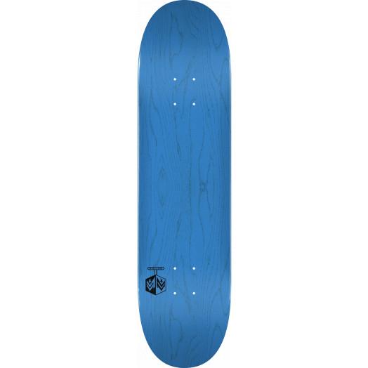 "MINI LOGO DETONATOR ""15"" SKATEBOARD DECK 244 K20 BLUE - 8.5 x 32.08"