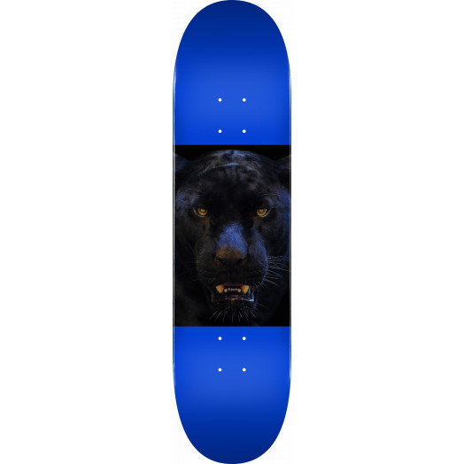 "MINI LOGO CHEVRON ANIMAL ""14"" SKATEBOARD DECK 291 PANTHER - 7.75 X 31.08"