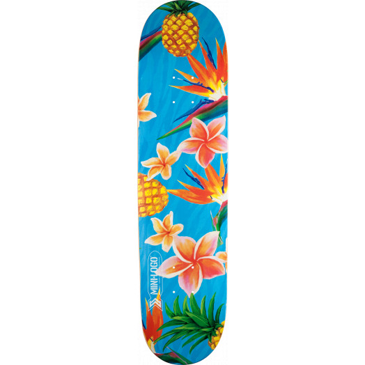 Mini Logo Small Bomb Skateboard Deck 249 Aloha - 8.5 x 32
