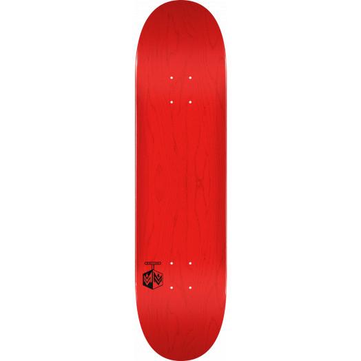 "MINI LOGO DETONATOR ""15"" SKATEBOARD DECK 191 K16 RED - 7.5 X 28.65 - MINI"