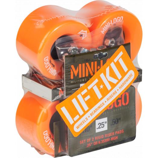 Mini Logo A.W.O.L. Lift Kit 59mm Orange Wheel