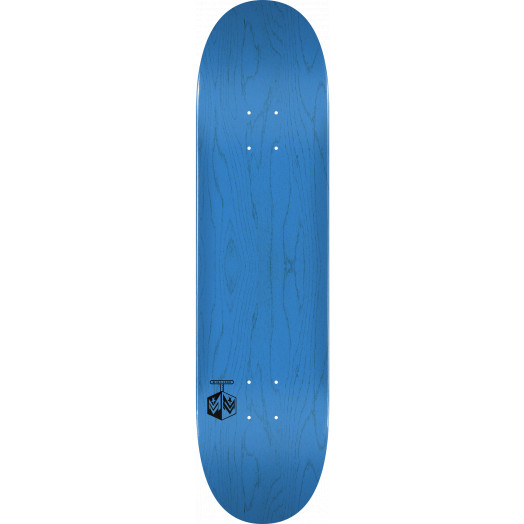 "MINI LOGO DETONATOR ""15"" SKATEBOARD DECK 255 K20 BLUE - 7.5 X 30.70"
