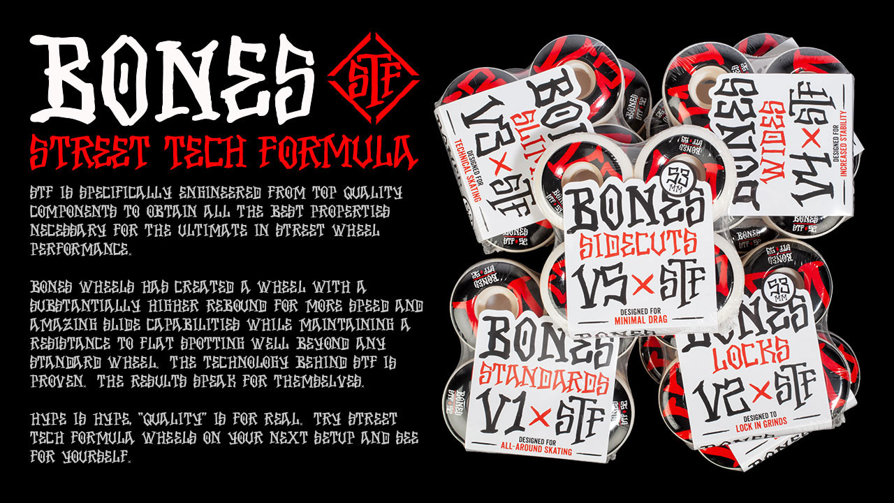 BONES Street Tech Formula Skateboard Wheels