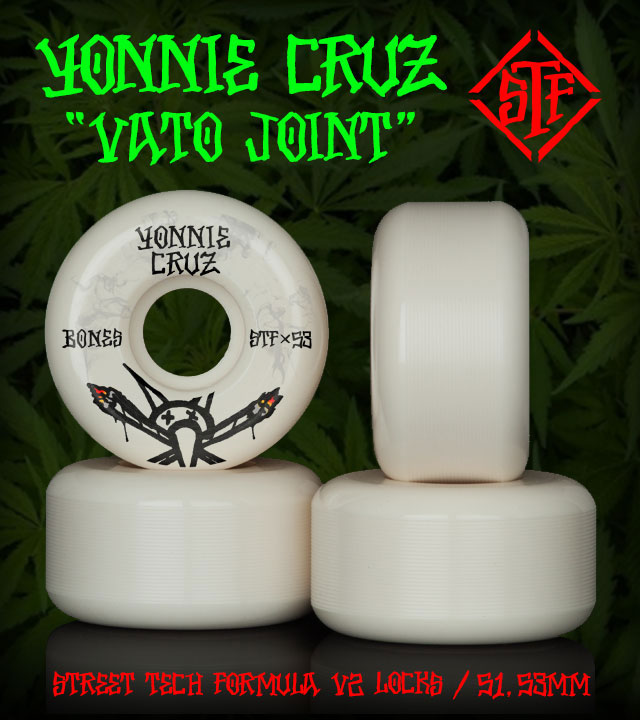 BONES Wheels STF Pro Cruz Vato Joint SKateboard Wheels