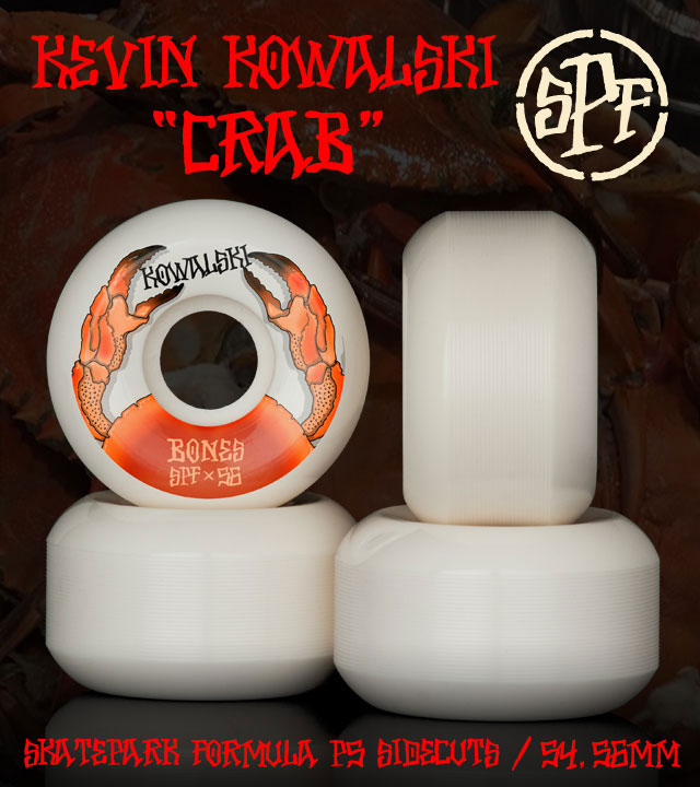BONES Wheels SPF Pro Kowalski Crab Skateboard Wheels