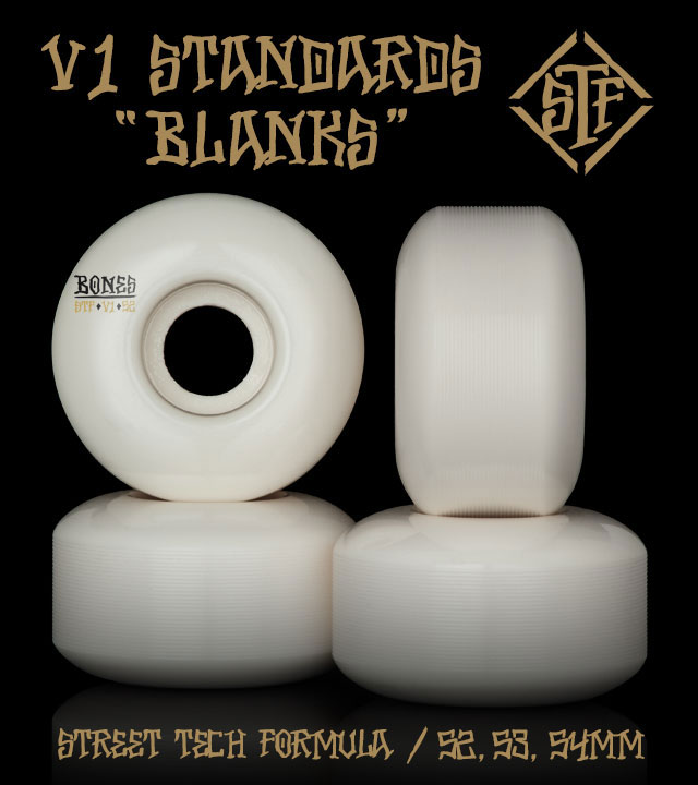 BONES Wheels STF Blanks Skateboard Wheels