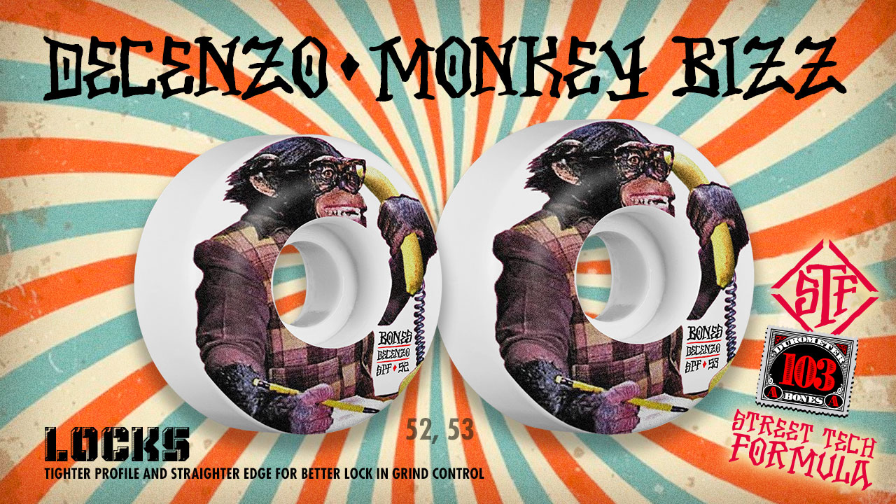 BONES Wheels - Ryan Decenzo Monkey Wheels