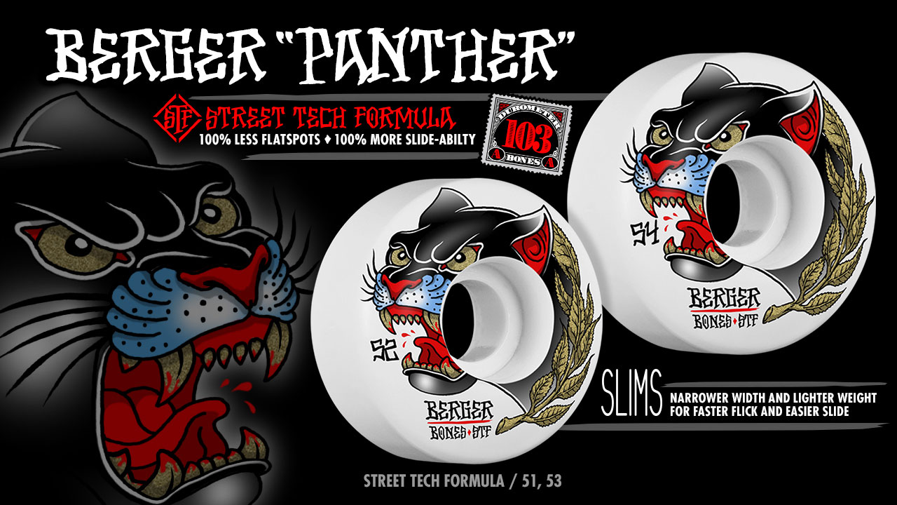 BONES Wheels - Matt Berger Panther Wheels
