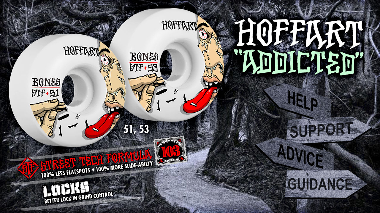 BONES Wheels - Jordan Hoffart Addicted Wheels