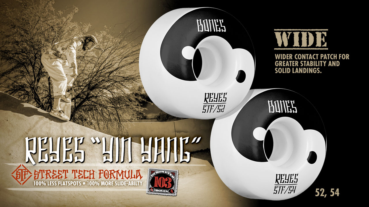 BONES Wheels - Reyes Yin Yang Wheels